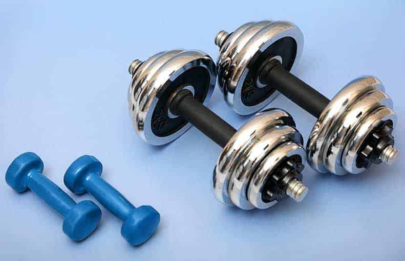 Parallelo Health - your source for health, workouts, food, supplements en more - blog - Top 5 hardware you will need for your home indoor gym - dumbbells