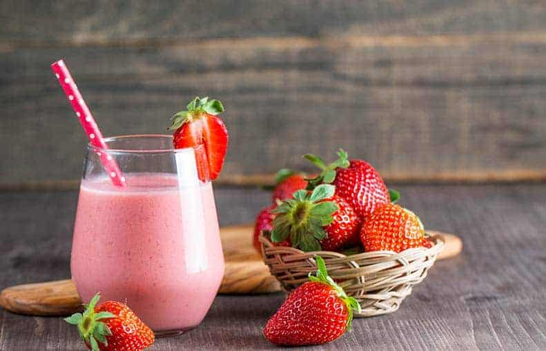 Parallelo Health - your source for health, workouts, food, supplements and more - blog - Our top 5 smoothies for a healthy life - strawberry smoothie