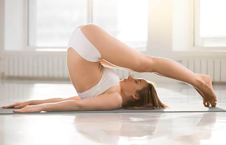 Parallelo Health - your source for health, workouts, food, supplements and more - blog - Bedtime Yoga - The 6 Best Poses So You Can Sleep Better - plow pose