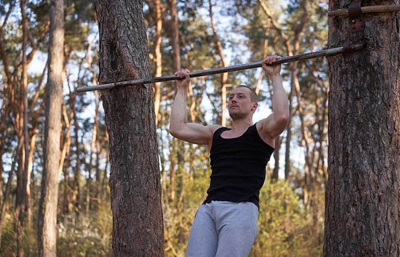 Parallelo Health - your source for health, workouts, food, supplements and more - blog - Your Awesome Home Gym – Beginners Guide to a Cheap Home Gym - diy pull-up bar